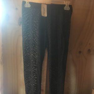 NWT Forever 21 Black Lace Leggings